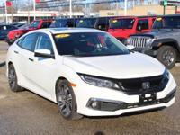 Recent Arrival! 2019 Honda Civic Touring Platinum White