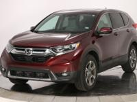 Basque Red Pearl II 2019 Honda CR-V EX AWD CVT 1.5L I4