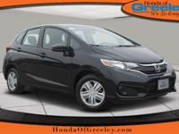 Delivers 40 Highway MPG and 33 City MPG! This Honda Fit