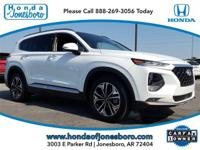 CARFAX One-Owner. Clean CARFAX. White 2019 Hyundai