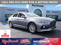 CERTIFIED BY CARFAX - ONE OWNER, Sonata SE, 4D Sedan,