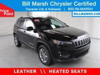 2019 Jeep Cherokee Latitude Plus 4WD, Leather Seats,