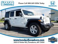 CARFAX One-Owner. Clean CARFAX. White 2019 Jeep