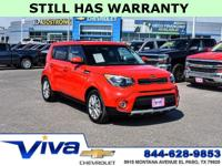 Inferno Red 2019 Kia Soul Plus FWD 6-Speed Automatic