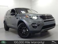 **LAND ROVER APPROVED CERTIFIED PRE-OWNED**5 YEAR/100K