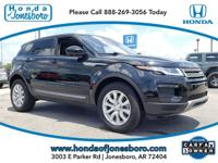 CARFAX One-Owner. Clean CARFAX. Black 2019 Land Rover