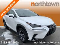 CARFAX One-Owner. Eminent White Pearl 2019 Lexus NX AWD