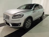 This 2019 Lincoln Nautilus Select AWD is a must see!