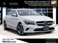 2019 Mercedes-Benz CLA CLA 250 Polar WhiteNew Price!
