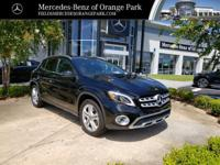 Black 2019 Mercedes-Benz GLA GLA 250 FWD 7-Speed