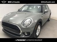 Clean CARFAX. Moonwalk Gray Metallic 2019 MINI Cooper