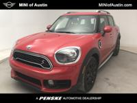 New Price! Clean CARFAX. Chili Red 2019 MINI Cooper S