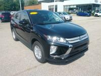 Recent Arrival! 2019 Mitsubishi Eclipse Cross ES Black