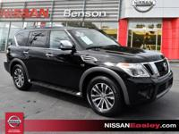 CARFAX One-Owner. Clean CARFAX. Super Black 2019 Nissan