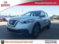 CARFAX One-Owner. Clean CARFAX. 2019 Nissan Kicks SV