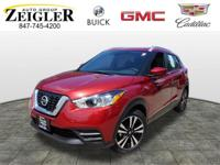 Recent Arrival! 2019 Nissan Kicks SV Cayenne Red