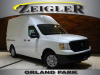 Glacier White 2019 Nissan NV2500 HD SVNissan of Orland