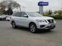 2019 Nissan Pathfinder SV 4WD at Volvo of Midlothian.