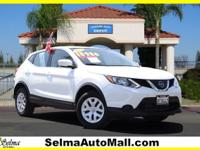 CARFAX One-Owner. Clean CARFAX. White 2019 Nissan Rogue