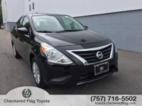 2019 Nissan Versa 1.6 S Plus Located at our Toyota