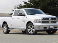 Clean CARFAX. Bright White Clearcoat 2019 Ram 1500