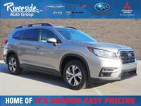 Certified. BLUETOOTH, BACKUP CAMERA. 2019 Subaru Ascent