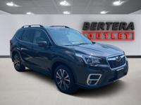 2019 Subaru Forester Dark Gray Metallic Limited Rear