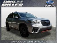 THIS VEHICLE WAS PREVIOUSLY A PAUL MILLER SUBARU