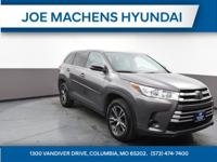 2019 Toyota Highlander LE Front Wheel Drive 4cylClean