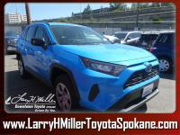Scores 33 Highway MPG and 25 City MPG! This Toyota RAV4