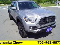 Silver 2019 Toyota Tacoma TRD Offroad 4WD 6-Speed V6