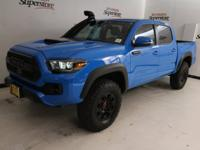 CARFAX One-Owner. Clean CARFAX. Blue 2019 Toyota Tacoma