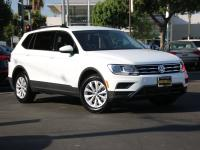 Pure White 2019 Volkswagen Tiguan S Multi Point Safety