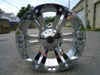 USED 24 CHROME XD MONSTER FOR SALE $1300 FOR WHEELS
