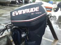 2009 Used Evinrude Etec 25Hp Long Shaft. Just fully