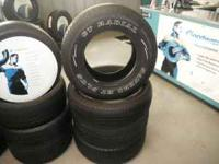 Used 265/70/17 tires in good shape many to choose