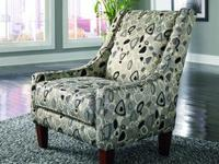 It's sofa, matching chair, and an accent chair for