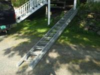 Used 40 foot wooden ladder for sale in great shape
