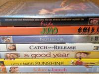 I have 7 in great secondhand condition dvd's for sale,