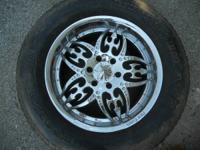 "4 SETS OF WHEELS AND TIRES !! 20"" $400.00 OBO , 17"""