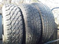 I have a few tires from projects i dont need any more.