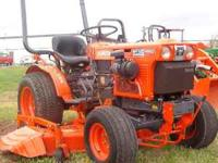 used Kubota B7100 hydro-stat transmission, 4wd call