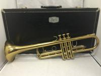 Made use of Bach TR300 Trumpet With Original Hard Case