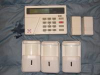 Up for sale is a used BAY ALARM KEY PANEL, THREE MOTION