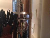 Used Big Berkey water filter ($258 retail) and