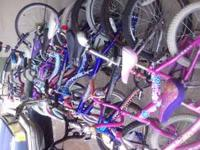 We've got a few used bikes for sale. The little kiddie