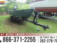 1979 Polar Kraft 12ft - 9.9 HP Engine - Rod Holders -