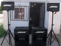 have a set of Bose speaker, i will sell as a set, or