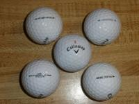 Most of my used Callaway balls are in excellent