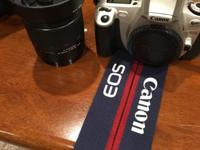 Used Canon EOS Rebel 2000 35mm SLR Film Camera with